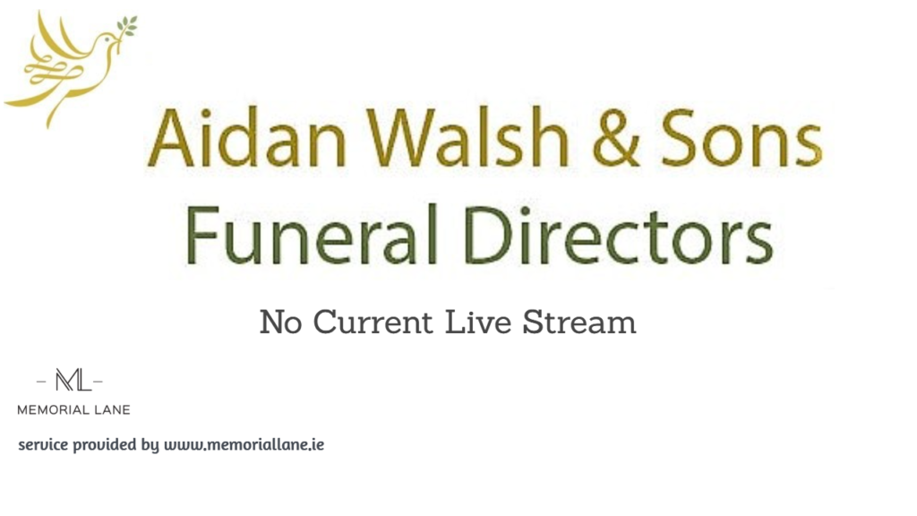 aidan walsh funeral ident-live stream